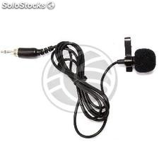 Clip Microphone for wireless beltpack XW14 XW15 XW16 XW17 (XW19)