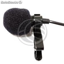 Clip Microphone for wireless beltpack XW34 XW35 XW36 XW37 (XW39)