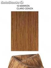 Clippies Extensiones cabello natural tejido 100gr. | Liso - nº 10