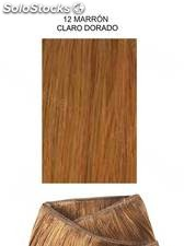 Clippies Extensiones cabello natural tejido 100gr. | Liso - nº 12