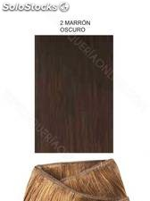 Clippies Extensiones cabello natural tejido 100gr. | Liso - nº 2