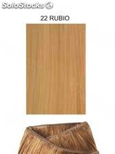 Clippies Extensiones cabello natural tejido 100gr. | Liso - nº 22