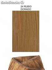 Clippies Extensiones cabello natural tejido 100gr. | Liso - nº 24
