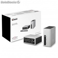 CLUB3D - SenseVision usb 3.0 4K uhd Mini Docking Station