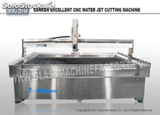 CNC Cantalever-Axis Water Jet Cutting Machine