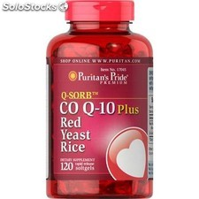 Co q-10 arroz rojo 120 capsulas puritan