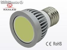 Cob Lâmpada led, 3w led spot light, e27