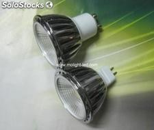 Cob lampara bombillas focos led 5w blanco/calido gu10/mr16/e27 85-265v 12v