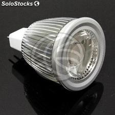 Cob led Bulb 6W MR16 12VDC 50mm cold daylight (NJ27)
