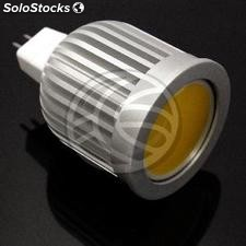 Cob led Bulb MR16 5W 12VDC 50mm cold day with light diffuser (NJ29)