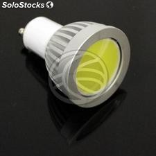 Cob led GU10 Bulb 4W 230VAC 90 ° 50mm daylight (NJ11)