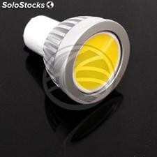 Cob led GU10 Bulb 4W 230VAC 90 ° 50mm warm light (NJ12)