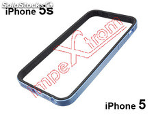 Coberta bumper azul Apple iPhone 5, 5S