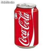 Coca cola 330 ml lattina bassa estera
