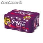 Coca cola cherry bte 12X15CL