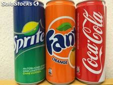 Coca Cola, Fanta and Sprite 330ml