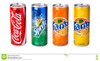 Coca Cola Soft Drinks, Fanta, Sprite