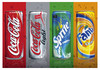 CocaCola 330 ML (Fanta , Sprite , Pepsi , Mirinda , 7UP , Schweppes , Red. Bull)
