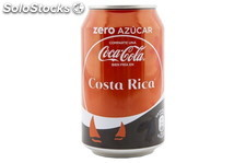 Cocacola Zero Lata 33ml. Cocacola