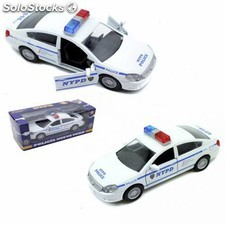 Coche de metal coleccion policia de new york escala 1/32