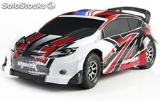 Coche rally eléctrico 4WD 50 kmh 1:18 Brushed 2,4GHZ RTR Wltoys A949