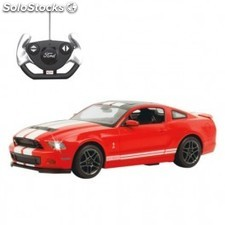 Coche RC Ford Shelby GT500 rojo 1:14 40Mhz