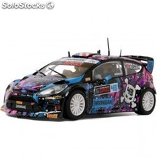 """Coche Scalextric Ford Fiesta rs wrc """"st-RX43"""""""