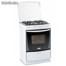 Cocina 4 Quemadores Whirlpool wst60ab