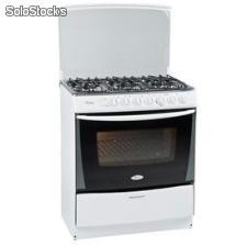 Cocina 6 Quemadores Whirlpool wst80ab