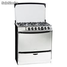 Cocina 6 Quemadores Whirlpool wst80aix