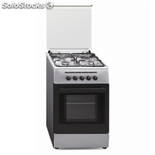 Cocina inoxidable gas natural vitrokitchen cb55in