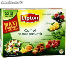 Coffret 60ST the parfume 6 varietes lipton