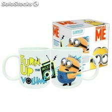 Coffret Mug Céramique 23cl MINIONS - Turn Up of the Volume