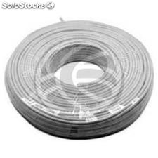 Coil 4-Wire Telephone Cable LSHF (300m/Rígido/Plano) (RT14)