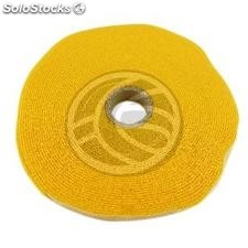 Coil adhesive tape 20mm x 10m yellow (VR63)
