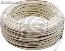 Coil Telephone Cable Flexible 4-Wire Ivory (100m) (RT01)