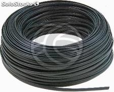 Coil Telephone Cable Flexible Black 4-Wire (100m) (RT03)