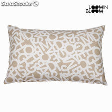 Cojin abc beige 30x50 cm by Loom In Bloom