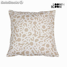 Cojin abc beige 60x60 cm by Loom In Bloom