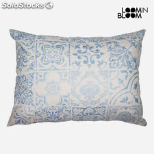 Cojín Azul (50 x 70 cm) - Colección Queen Deco by Loom In Bloom