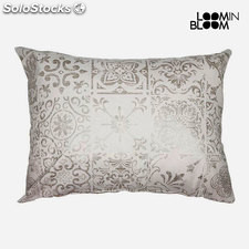 Cojín Beige (50 x 70 cm) - Colección Queen Deco by Loom In Bloom