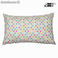 Cojin cuore rosa 30x50 cm by Loom In Bloom