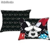 Cojin Saten Rectangular Mickey y Minnie