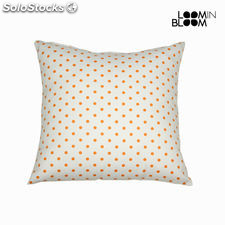 Cojín topos natural naranja - Colección Little Gala by Loom In Bloom