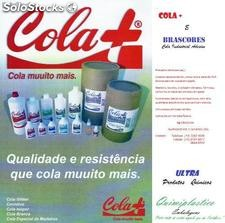 Cola Escolar e Cola Industrial
