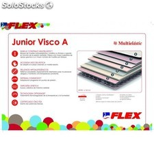 Colchon flex junior visco a 80x200