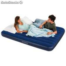 Colchón Hinchable +2 Almohadas y Bomba Manual de Intex - Cod. 68765