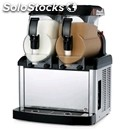 Cold cream and sorbet machine - mod. sp 2 - n.2 tanks - n. 1 compressor -