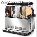 Cold cream and sorbet machine- mod. sp 3 - n.3 tanks - n. 1 compressor -