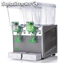 Cold drinks machine-mod. extra stainless 12/2-for non-carbonated drinks-# 2